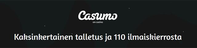 Casumon uusi bonustarjous