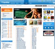 NordicBet kuvakaappaus
